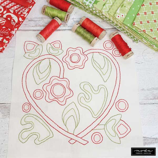 CT Holiday Stitch-a-Long Block 7