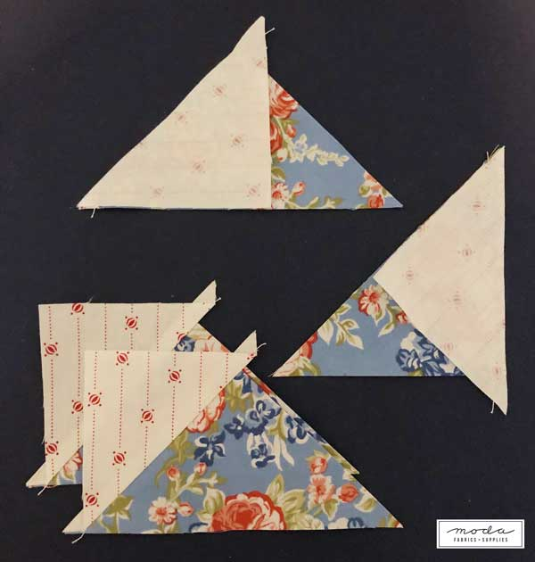 CT Triangle Flying Geese 1