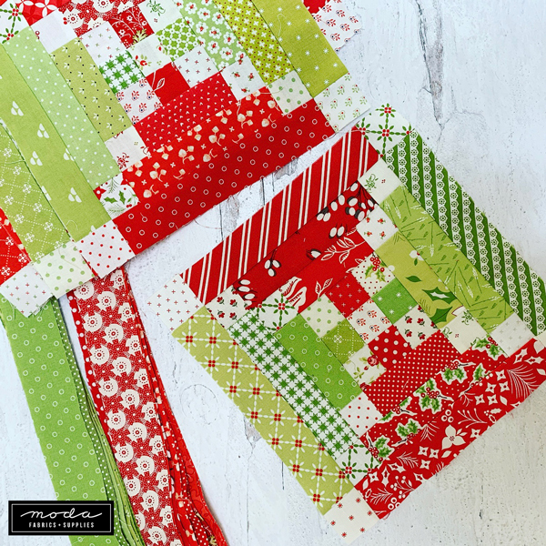 CT Holiday Stitch-a-Long Pieced Blocks