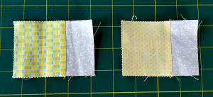 Step 1 for Mini Charms Bench Pillow