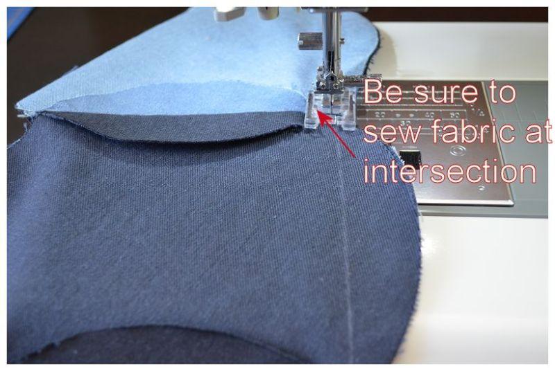 Denim Circle 60 fabric
