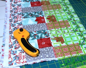 trim before quilting
