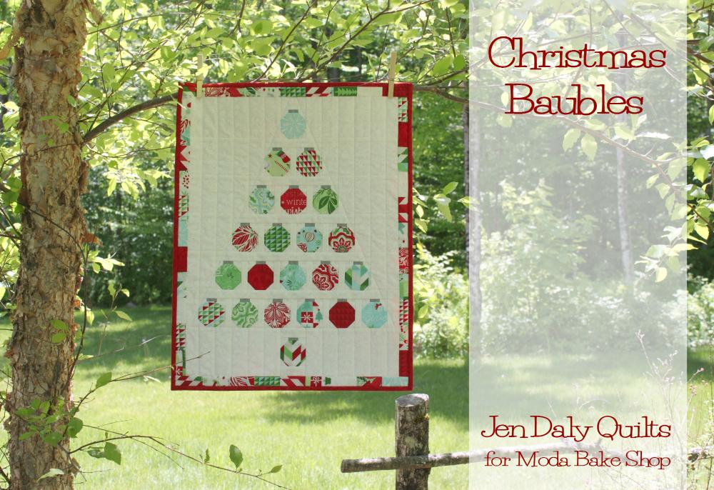 Christmas Baubles Quilt Modafabrics Com