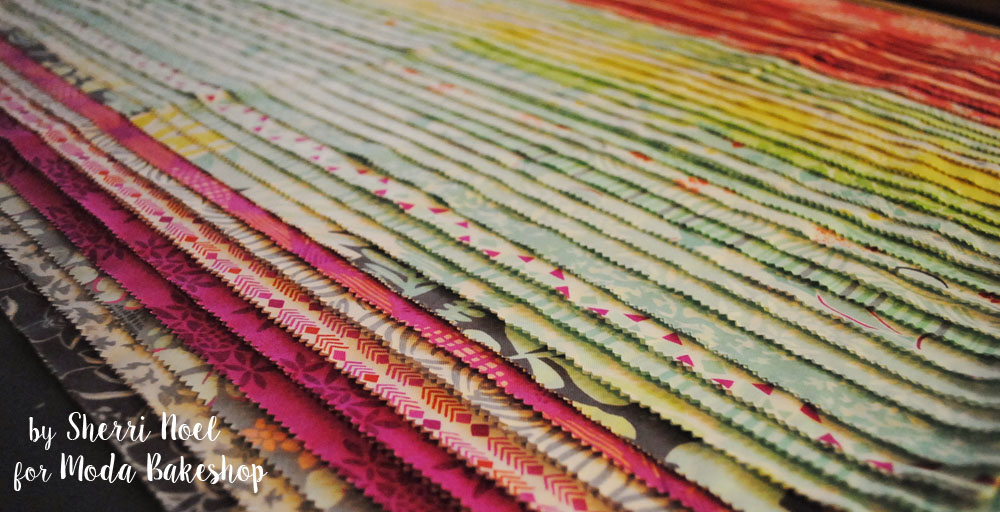 canyon fabric jelly roll strips