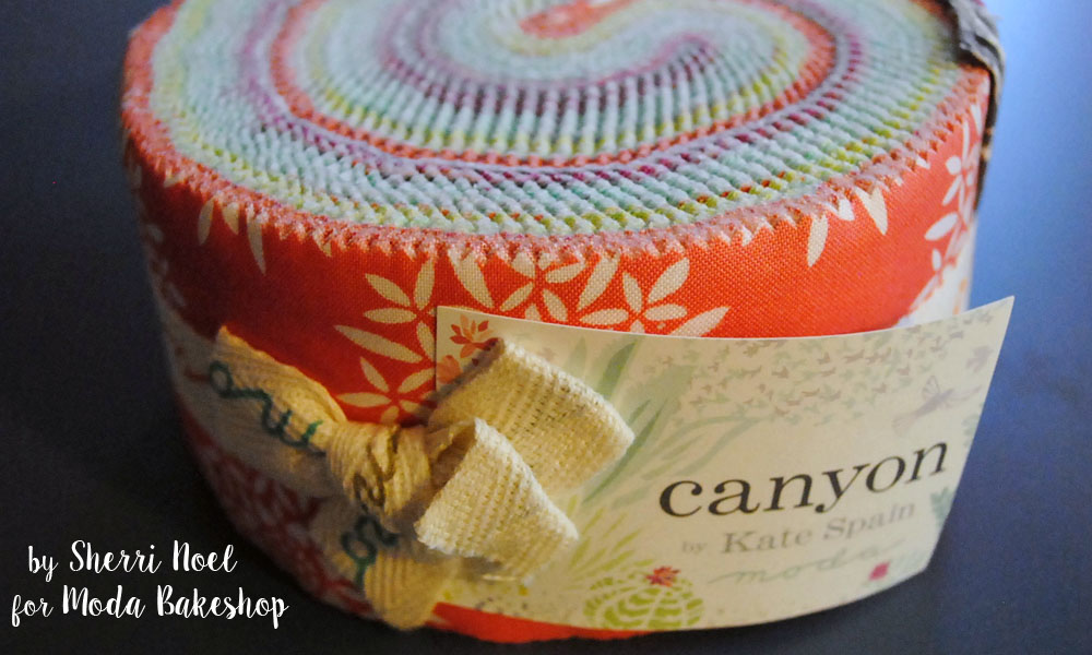 canyon fabric jelly roll