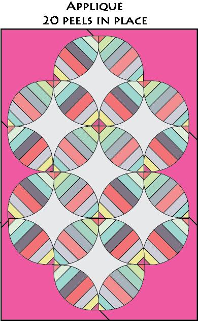 orange peel layout