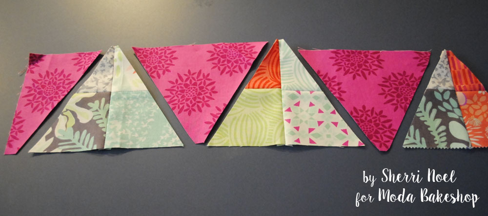 triangles for border