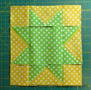 10 - Sawtooth Star Second Layout