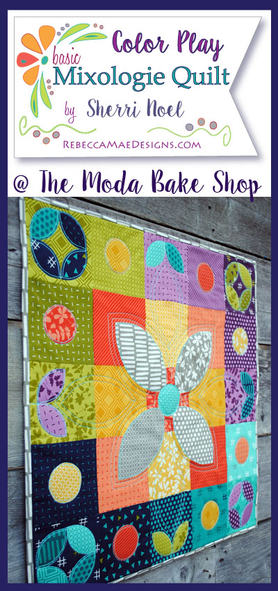 Orange Peel Quilt Pattern ~ Moda Bake Shop