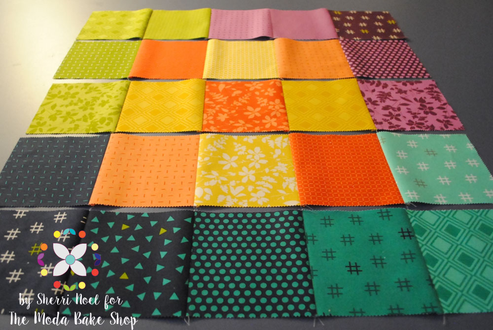mini quilt pattern layout