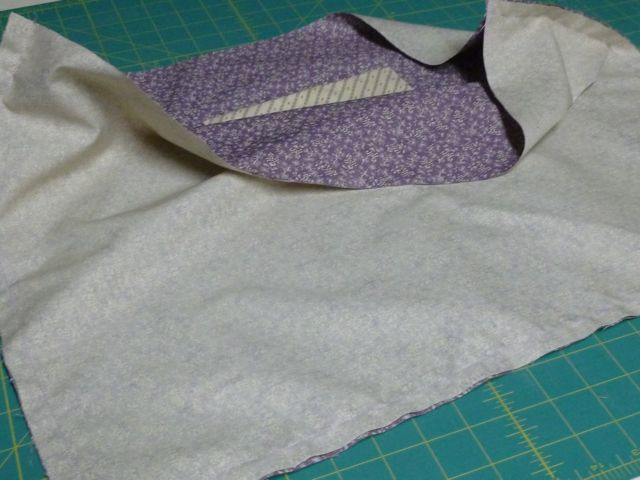 Wild Orchid Tote 49 lining sewn