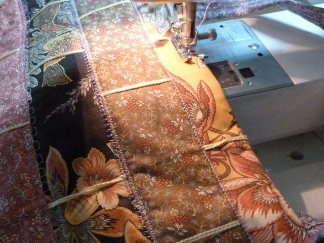Wild Orchid Tote 55 stitch edge