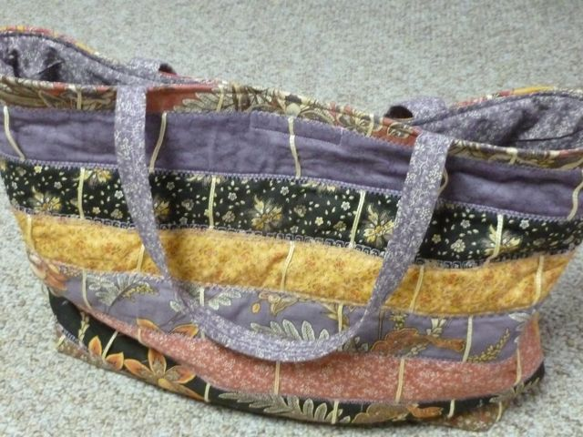 Wild Orchid Tote 60