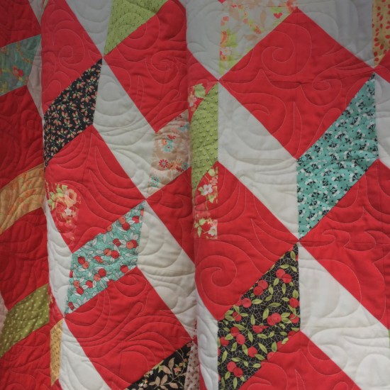 Stepping Stones quilt 090