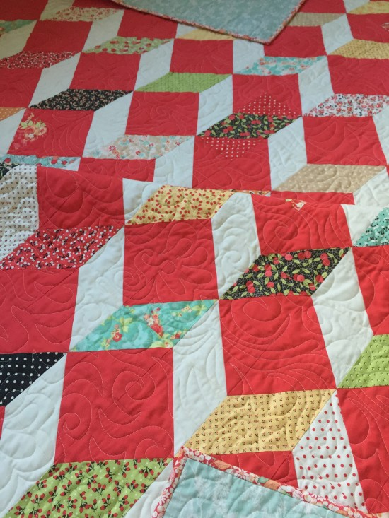 Stepping Stones quilt 107