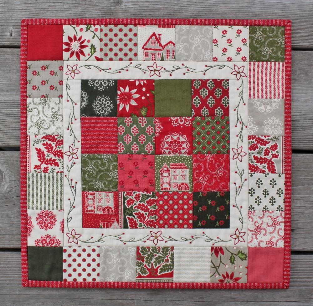 Christmas Candy Mini Quilt Modafabrics Com