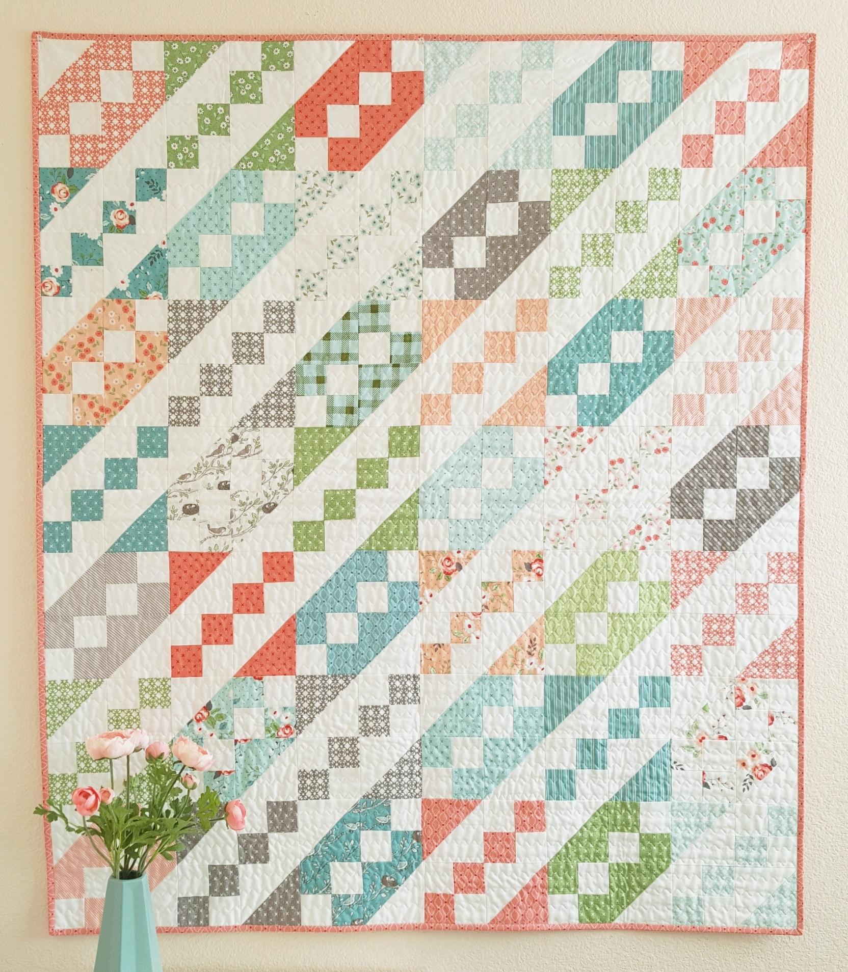 Jane S Ladder Quilt Modafabrics Com