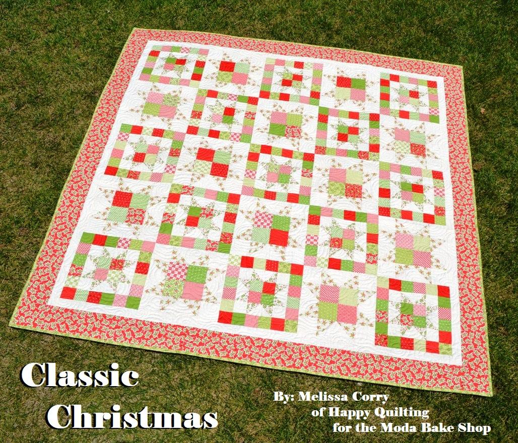 Classic Christmas Quilt Modafabrics Com