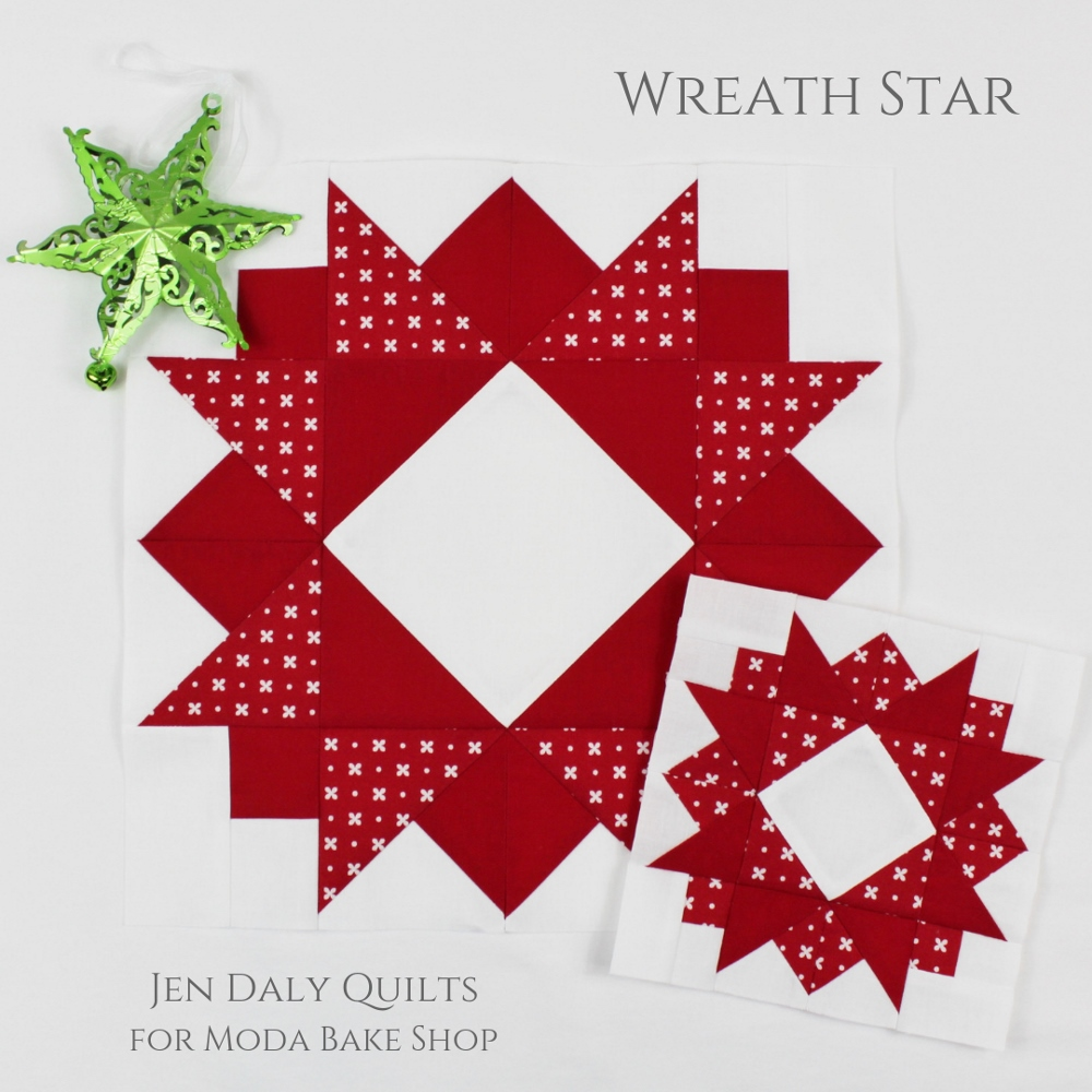 Dec 21 Wreath Star Modafabrics Com